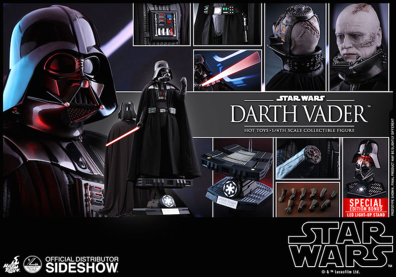 Hot Toys – Star Wars: Return Of The Jedi – Darth Vader 1/4″ Scale Figure Pre-Orders