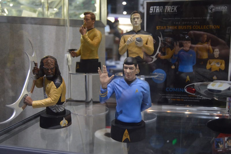 Eaglemoss SDCC 2018 – Star Trek & Battlestar Galactica