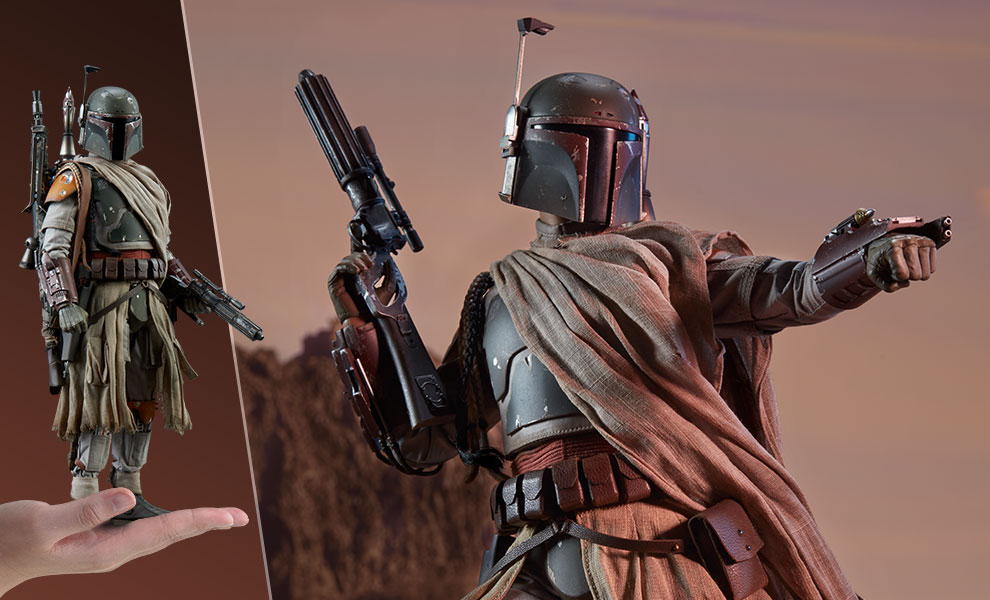 Sideshow Collectibles Star Wars Boba Fett Sixth Scale Figure Pre-Orders