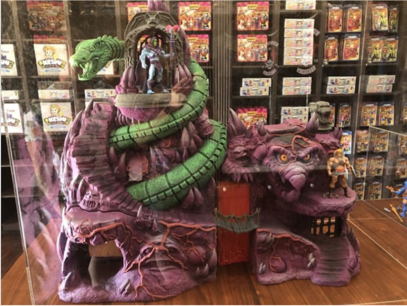 Super7 SDCC 2018 – Masters Of The Universe Classics Snake Mountain Playset Update