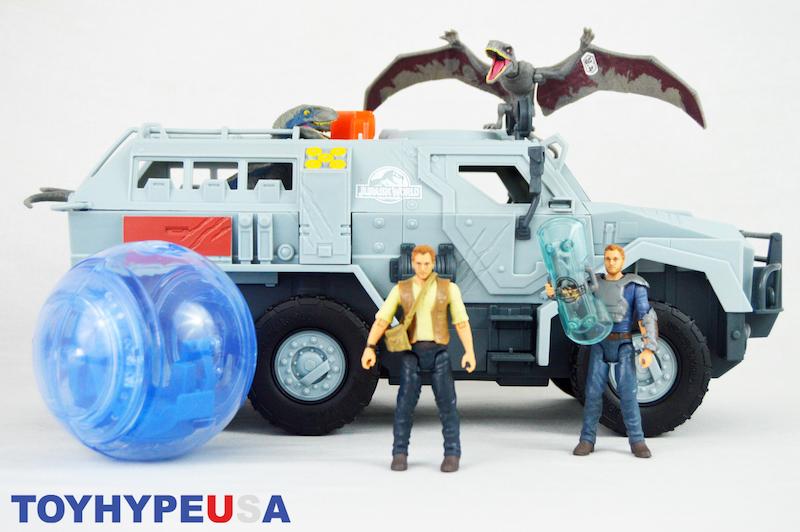 Mattel Jurassic World: Fallen Kingdom Gyropphere Blast Vehicle Review