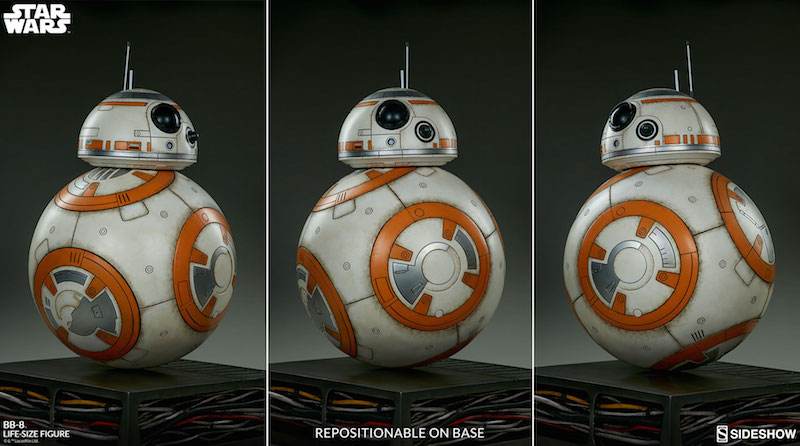 Sideshow Collectibles Star Wars BB-8 Life-Size Figure Pre-Orders