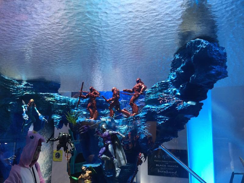 Mattel SDCC 2018 – Aquaman Diorama Video Walkthrough