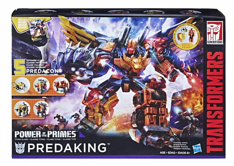 Entertainment Earth – Hasbro Transformers Power of the Primes Predaking Figure In-Stock