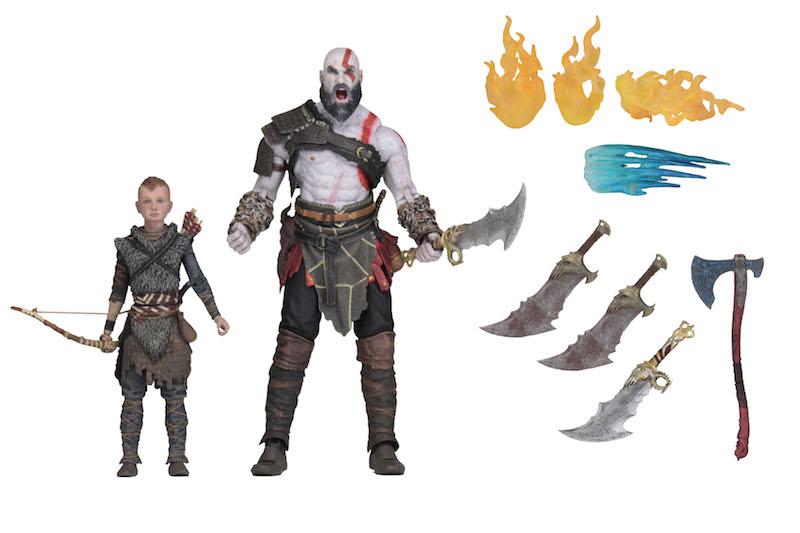 NECA Toys Shipping This Week – Terminator 2 Kenner Inspired Figures & Ultimate Kratos