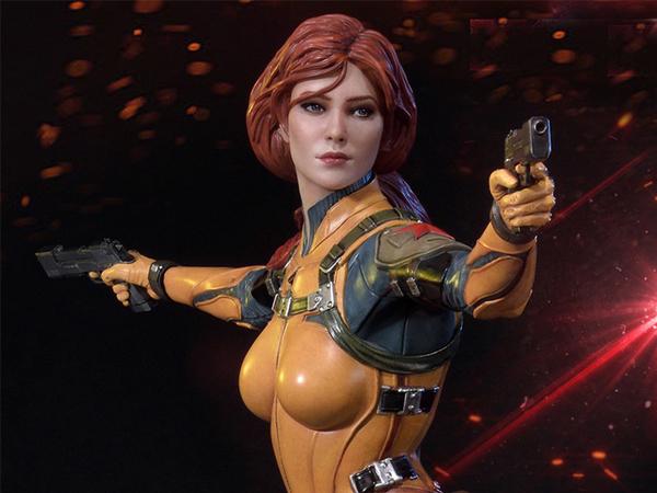 Prime 1 Studios G.I. Joe Premium Masterline Scarlett Statue Pre-Orders