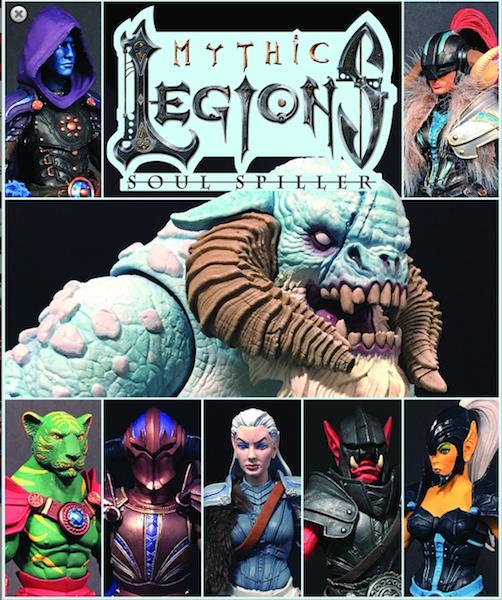 BigBadToyStore – Mythic Legions: : Soul Spiller Figures Pre-Orders