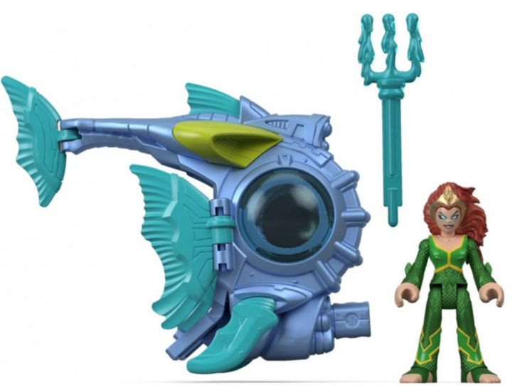 Fisher Price Imaginext DC Super Friends Mera With Battle Sub Set In-Stock On Amazon & More New Listings