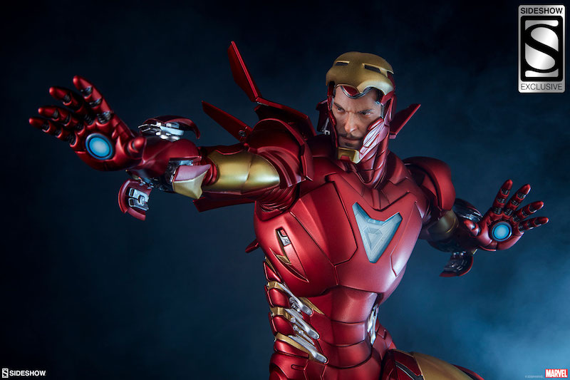 Sideshow Collectibles Marvel Comics Iron Man Extremis Mark II Statue Pre-Orders