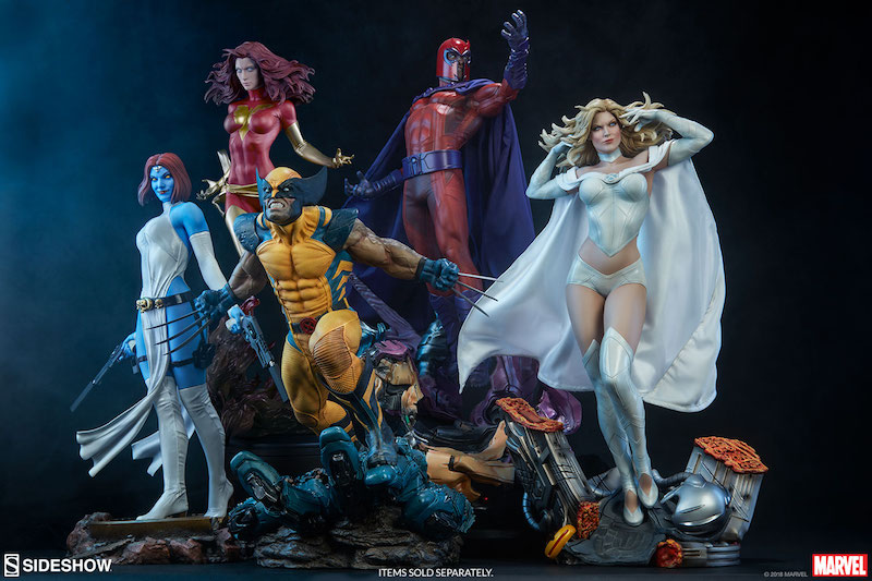Sideshow Collectibles Emma Frost Premium Format Figure Pre-Orders