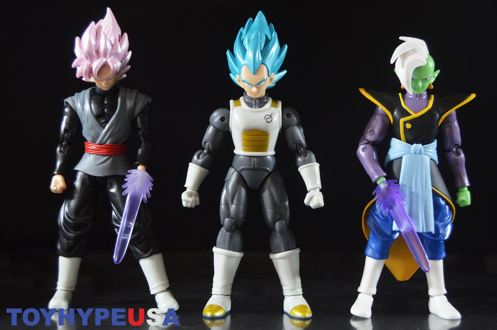 Dragon Ball Super Series 4 – Blue Vegeta, Goku Black Rose & Zamasu Figures Review
