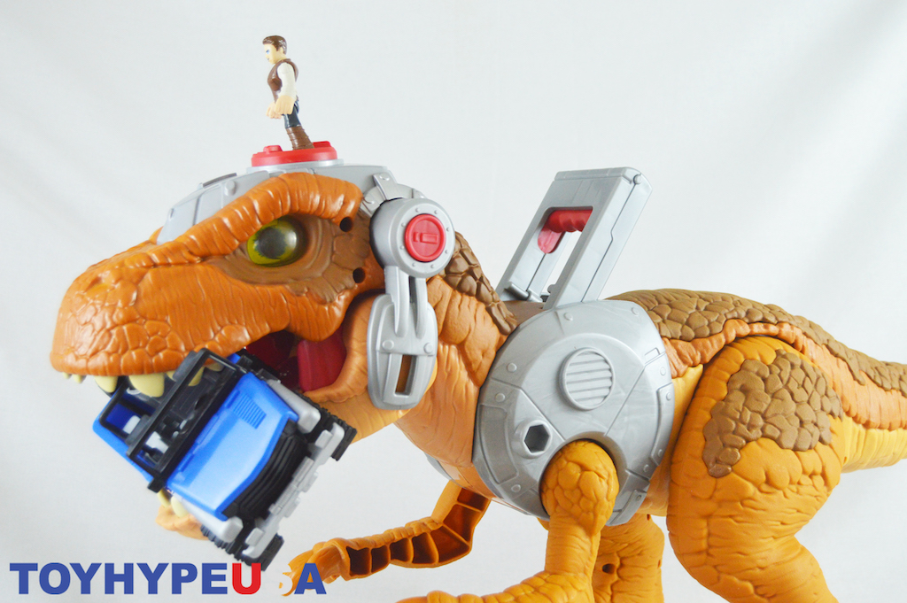 Fisher Price Imaginext Jurassic World – Jurassic Rex Figure Review