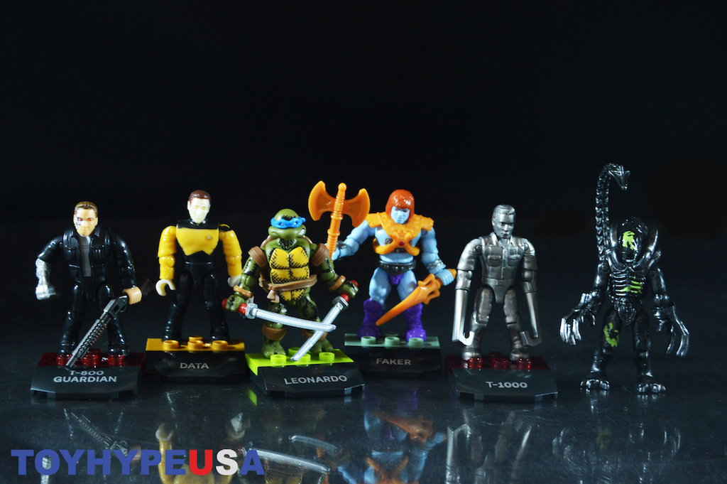 Mega Construx Heroes Series 3 – Masters Of The Universe, TMNT, Star Trek TNG, Terminator & Alien Figures Review