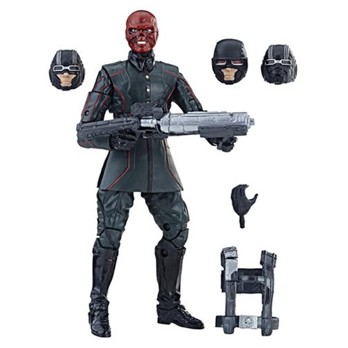 Amazon Black Friday Weekend Deal – Hasbro Marvel Legends 6″ The First Ten Years Red Skull Figure Now $13
