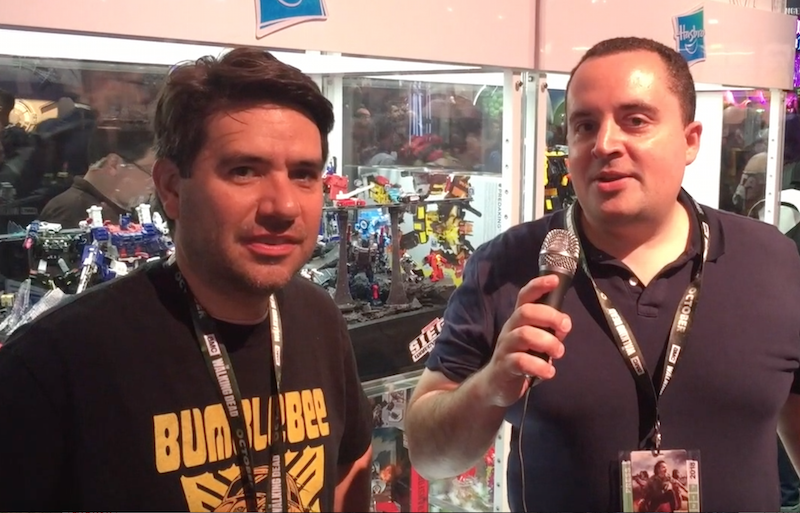 Hasbro Transformers SDCC 2018 – Video Interview With Brand Team