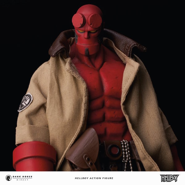 Hellboy 1/12th Scale Figure By Dark Horse Comics