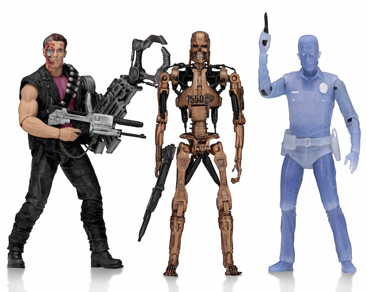NECA Toys Terminator 2 Kenner Inspired Power Arm T800 Figure Available Now
