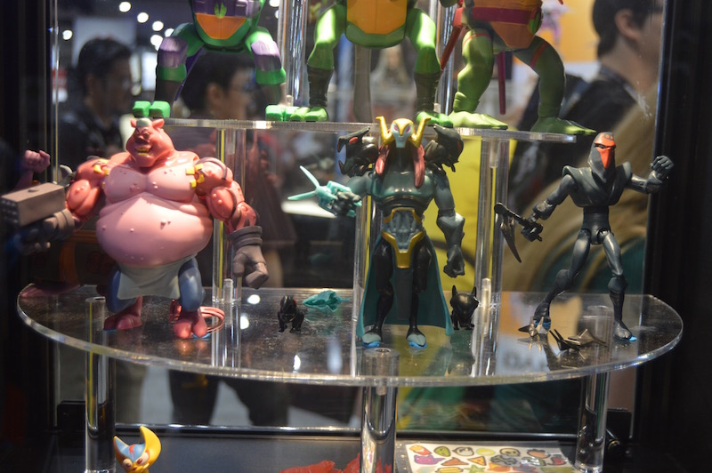 Playmates Toys SDCC 2018 Rise Of The Teenage Mutant Ninja Turtles Display