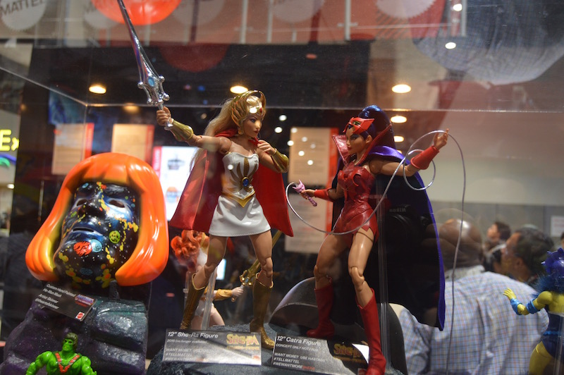Mattel SDCC 2018 – Masters Of The Universe 11″ Figure Prototypes On Display