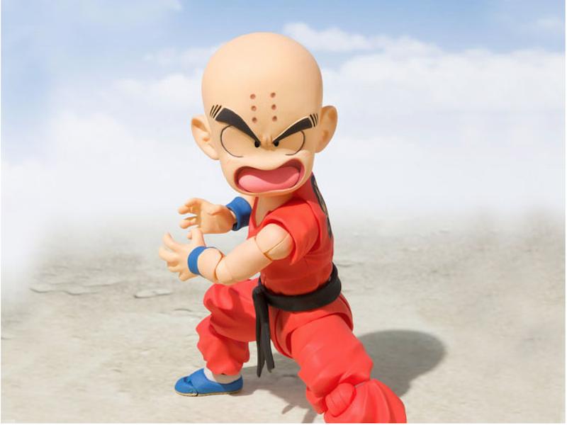 S.H. Figuarts Dragon Ball Kid Krillin Figure