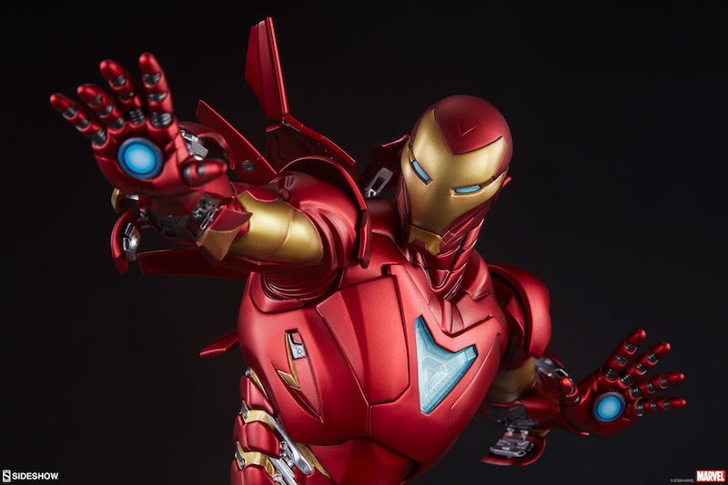 Sideshow Collectibles Marvel Comics Iron Man Extremis Mark II Statue