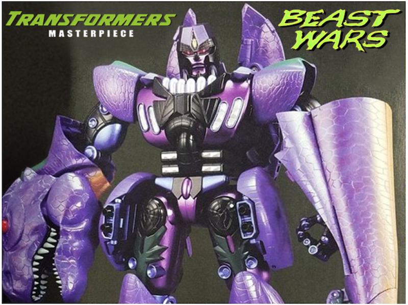 Takara-Tomy Transformers Masterpiece MP-43 Beast Wars Megatron Figure Price Drop