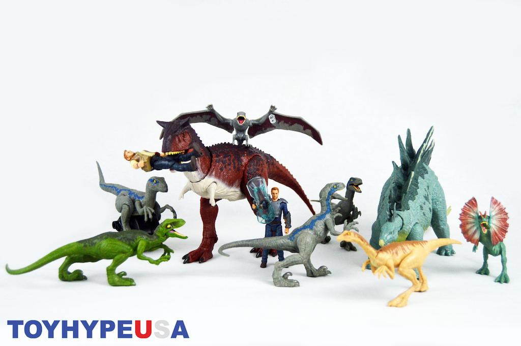 Mattel Jurassic World: Fallen Kingdom Dinosaur & Figure Collection Review