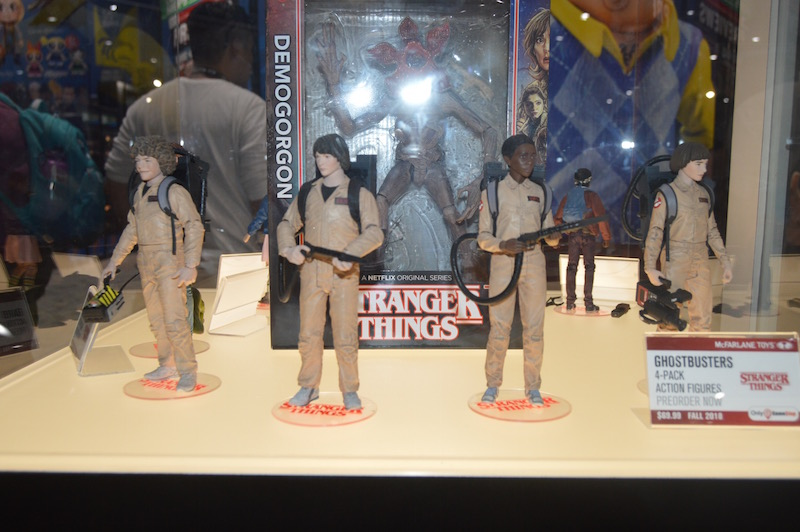 McFarlane Toys SDCC 2018 – Stranger Things, Five Nights At Freddy's, Cuphead & More