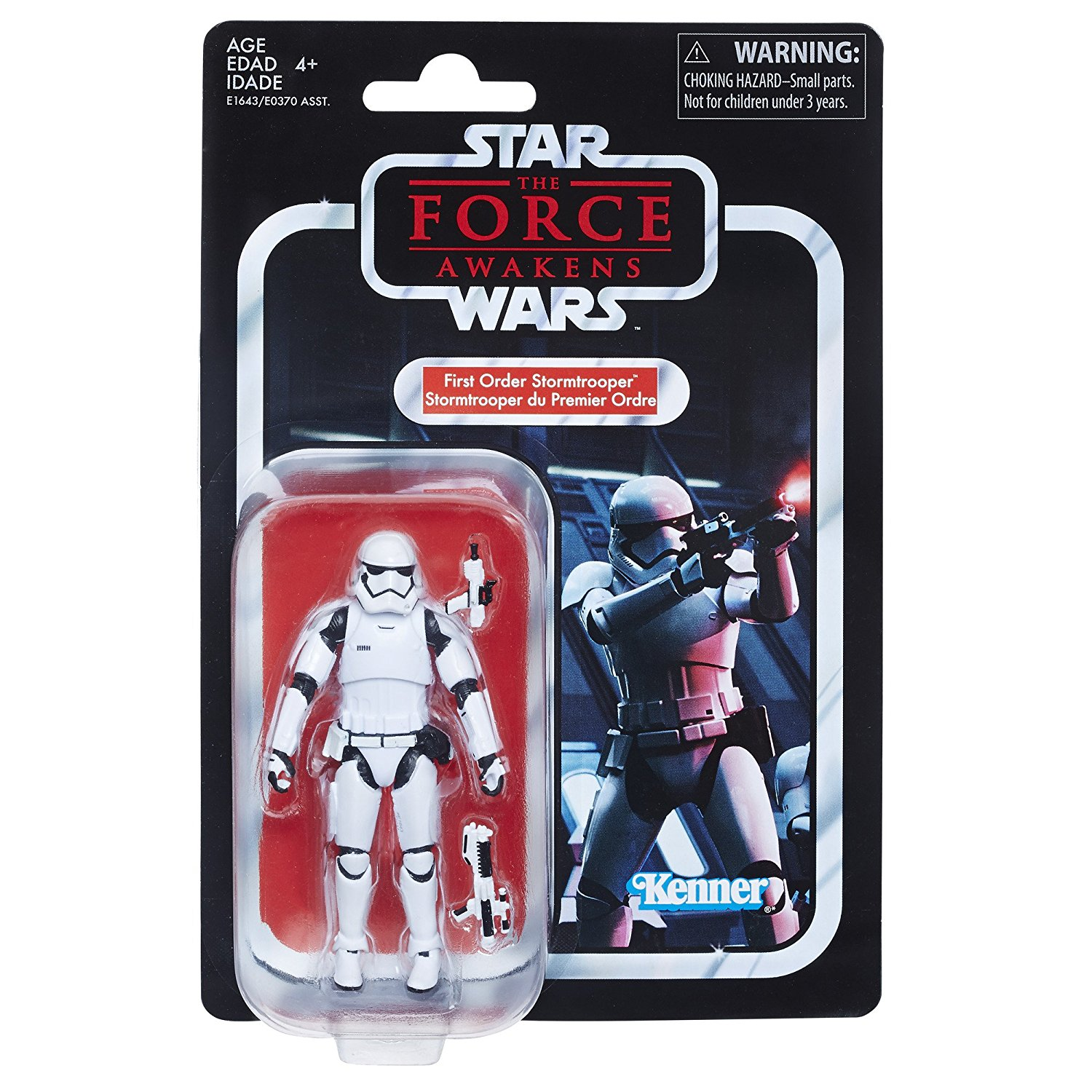 Star Wars The Vintage Collection First Order Stormtrooper 3.75″ Figure Now $6 On Amazon
