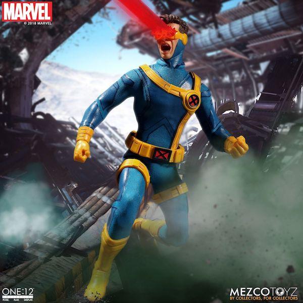 Mezco Toyz One:12 Collective Marvel Comics Cyclops Figure