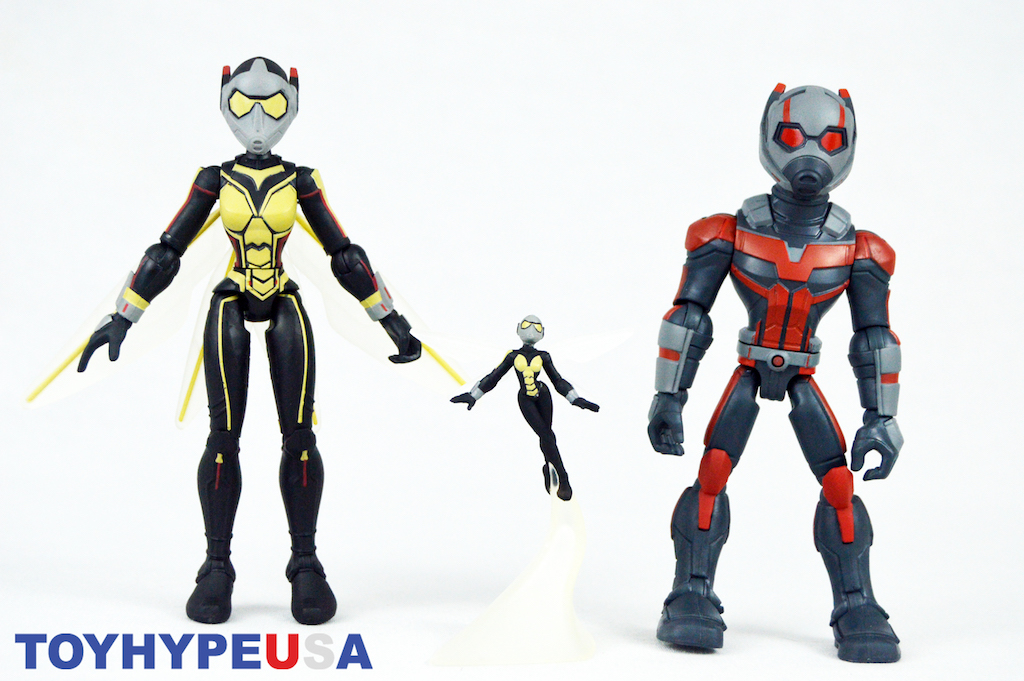 Disney Store Exclusive Marvel Toy Box – Ant-Man & The Wasp Figures Review