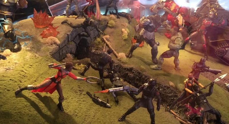 Hasbro SDCC 2018 – Marvel Legends 6″ Figure Diorama Video Walkthrough