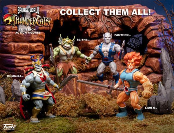 Funko ThunderCats Retro Style Figures Coming To Amazon On October 12th