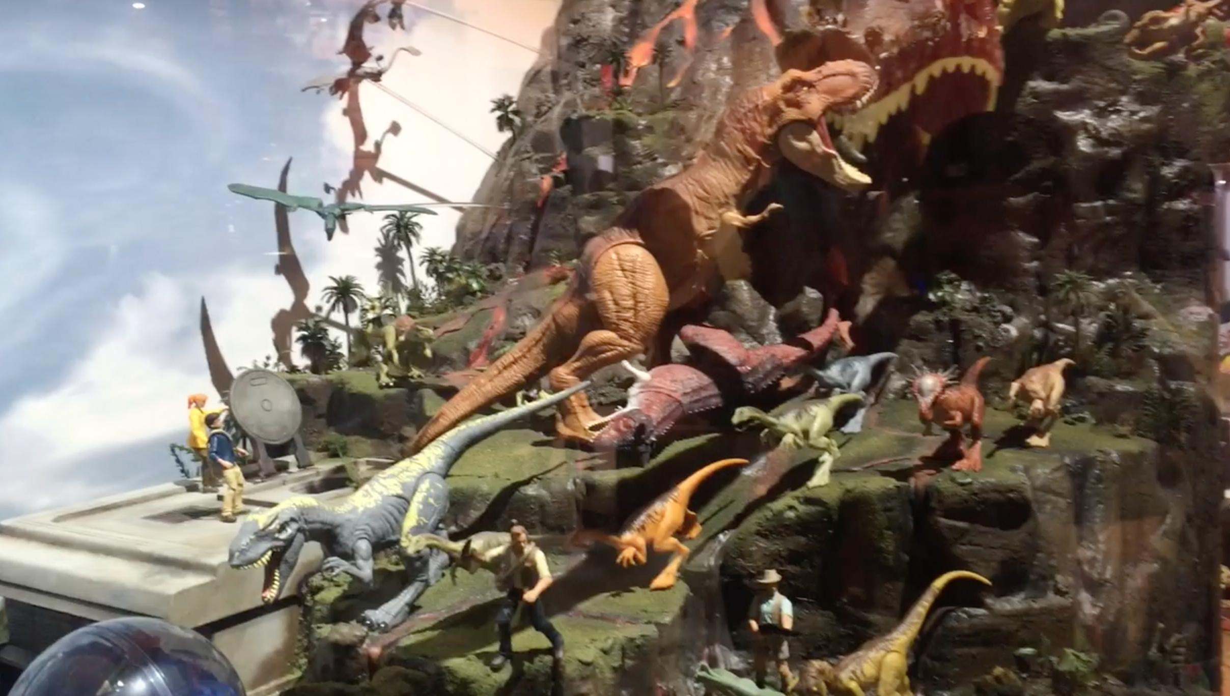 Mattel SDCC 2018 – Jurassic World Diorama Video Walkthrough