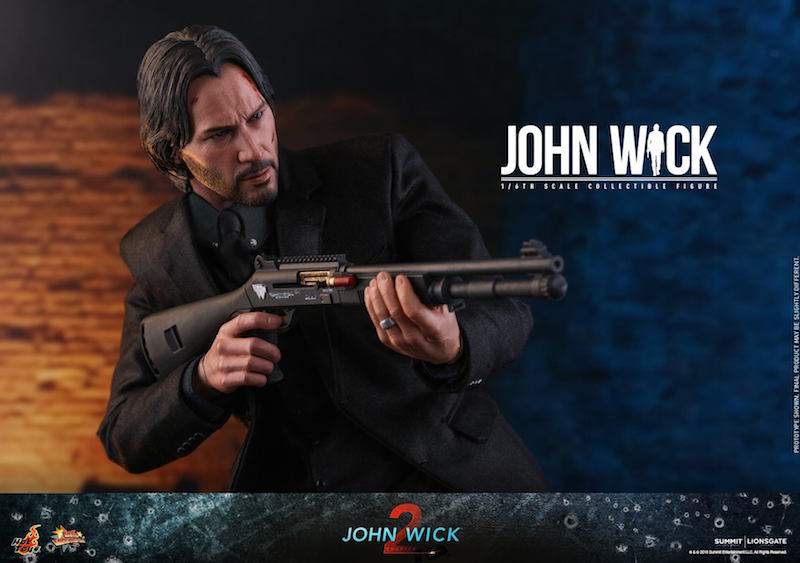 Hot Toys John Wick Chapter 2 Sixth Scale Figure
