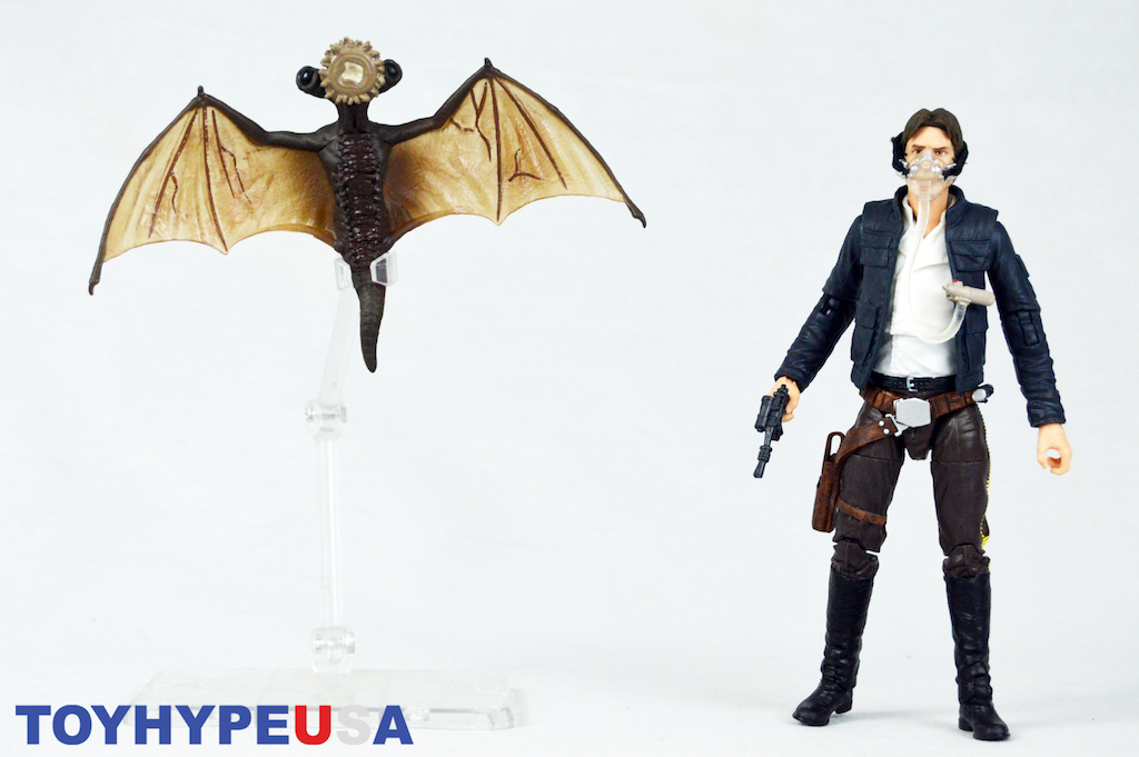 Hasbro San Diego Comic-Con 2018 Exclusive Star Wars The Black Series 6″ Han Solo And Mynock Figures Review