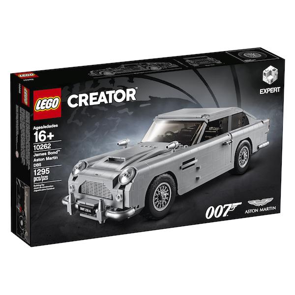 LEGO Announces James Bond Aston Martin Construction Set