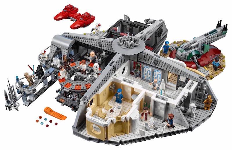 LEGO Announces Star Wars Betrayal At Cloud City Set