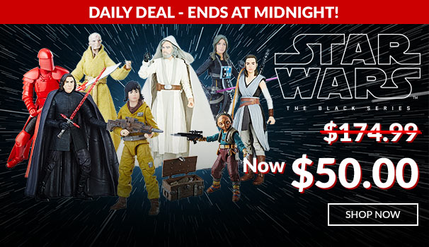 Entertainment Earth Daily Deal – Hasbro Star Wars The Black Series Wave 14 Now $50