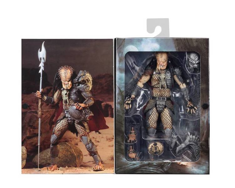 NECA Toys Aliens Vs Predator Ahab Predator Ultimate Figure Available Now