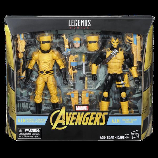 Kokomo Toys eBay Storefront – Marvel Legends A.I.M. Scientist & Shock Trooper Figure 2 Pack