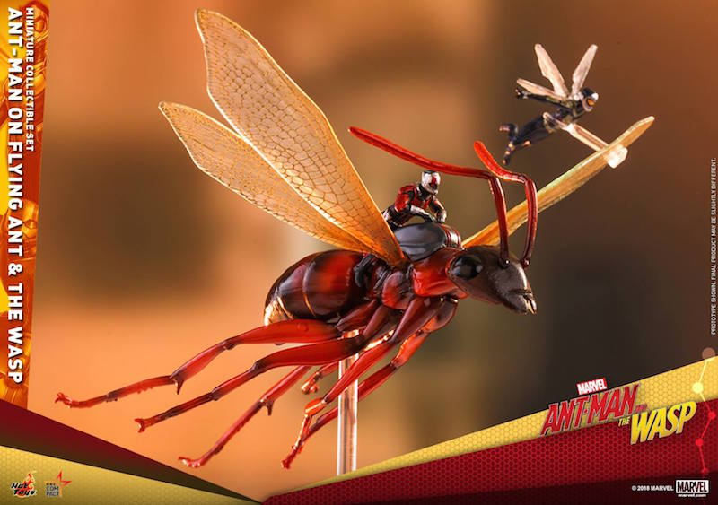 Hot Toys Ant-Man Movie – Ant-Man On Flying Ant And The Wasp Miniature Collectible Set Pre-Orders