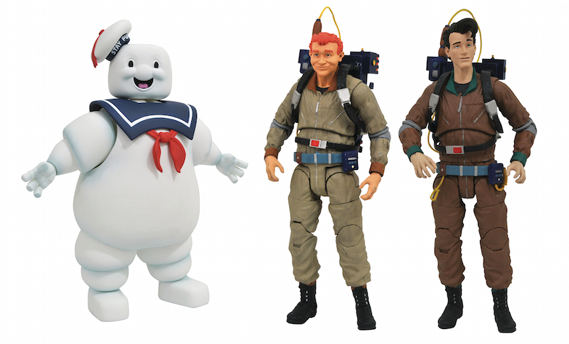 Diamond Select Toys Shipping This Week – The Real Ghostbusters Select Series 10