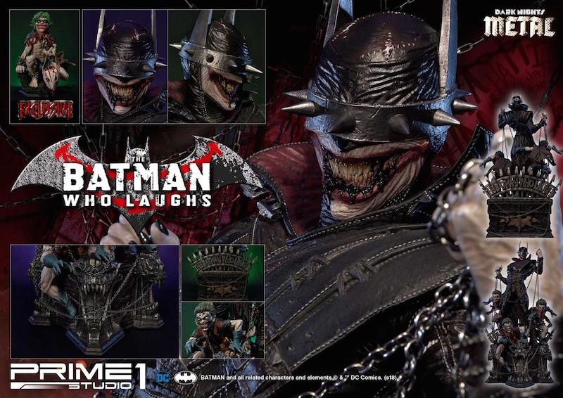 Prime 1 Studio Dark Knights: Metal – The Batman Who Laughs Statue Pre-Orders