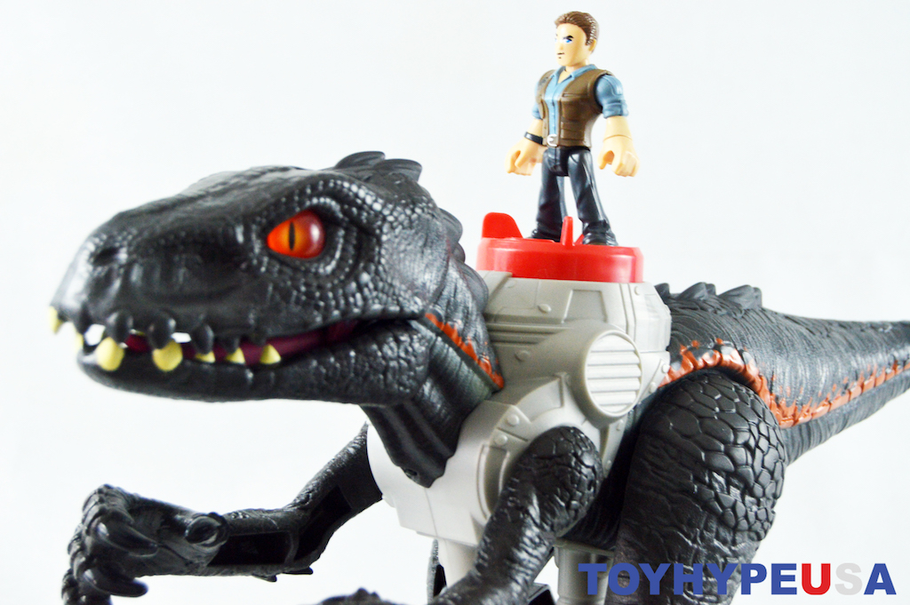 Fisher Price Imaginext Jurassic World – Walking Indoraptor Figure Review