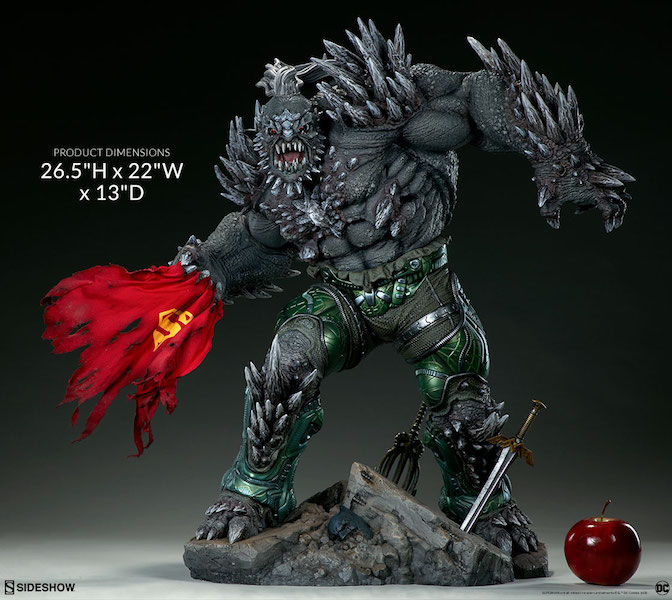 Sideshow Collectibles DC Comics Doomsday Maquette Pre-Orders