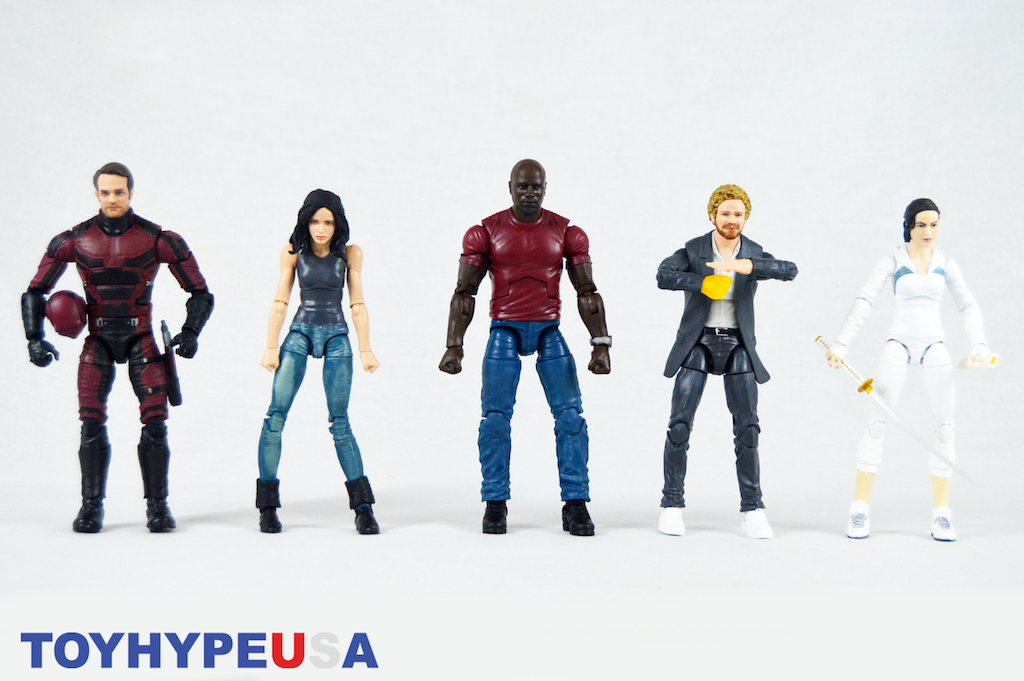 Hasbro Marvel Legends San Diego Comic-Con 2018 Exclusive The Defenders Box Set Review