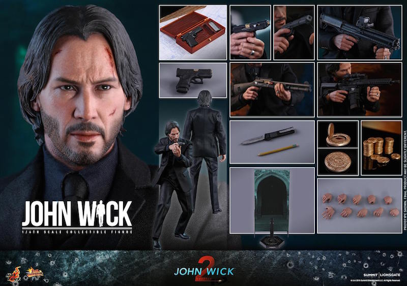 Hot Toys John Wick Chapter 2 Sixth Scale Figure Pre-Orders