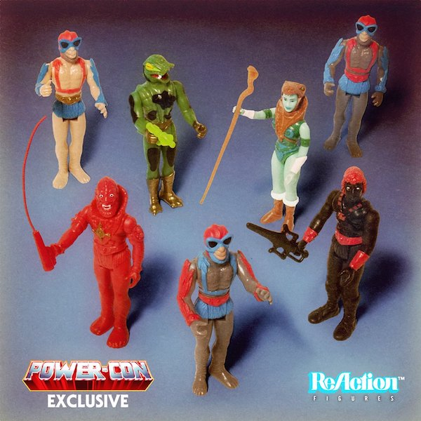 Power-Con 2018 – Masters Of The Universe ReAction Figure Exclusives By Super7