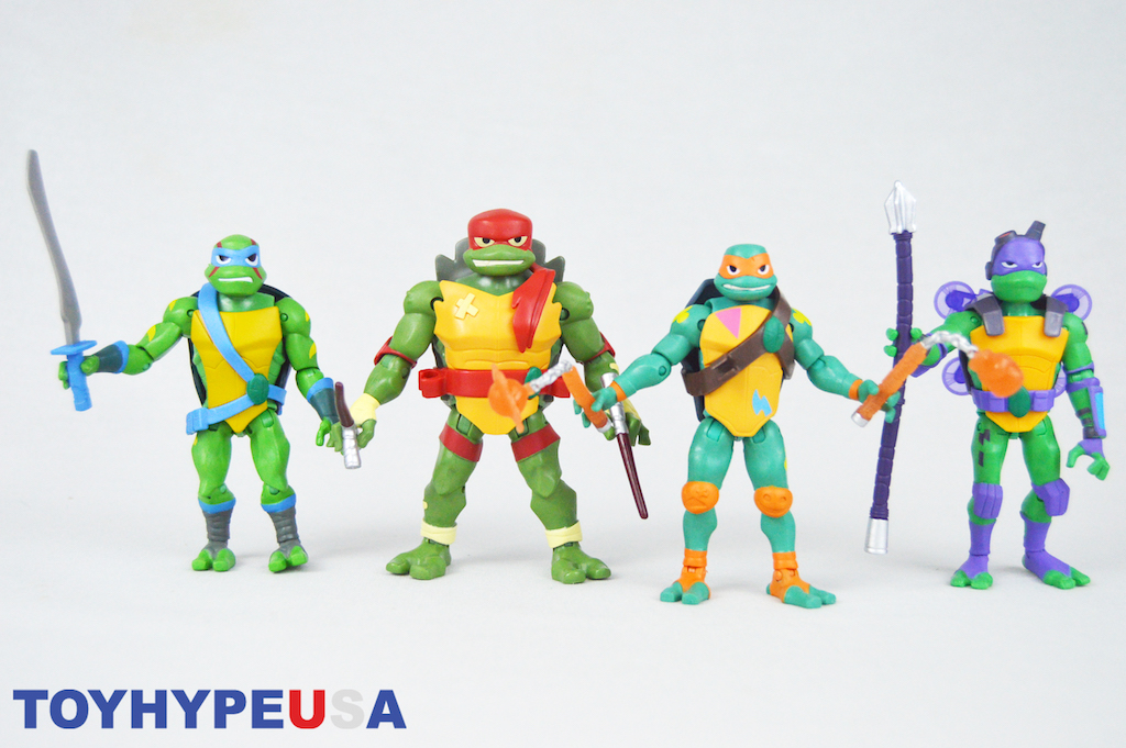 Playmates Toys San Diego Comic-Con 2018 Exclusive Rise Of The Teenage Mutant Ninja Turtles Box Sets Review